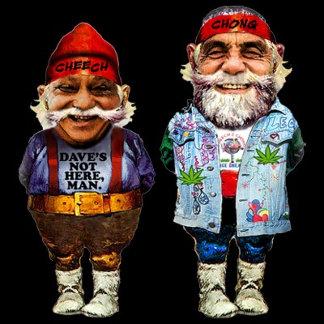 Cheech and Chong Gnomes