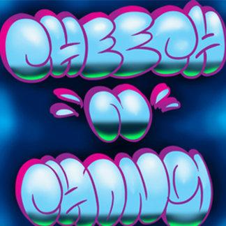 Cheech and Chong Blue Graffiti Logo