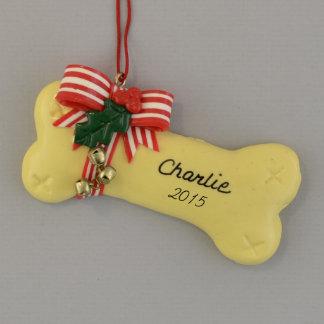 Prydnad för jul för hundbenpersonlig